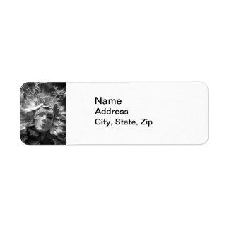 Masked Angel Custom Return Address Labels