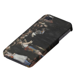 Masked Ball at the Opera, 1873 (oil on canvas) iPhone 4 Cover