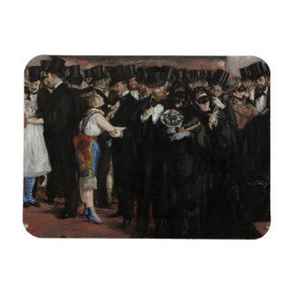 Masked Ball at the Opera, 1873 (oil on canvas) Flexible Magnets