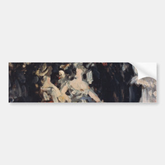 Masked Ball at the Opera by Edouard Manet Bumper Stickers