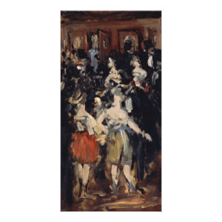Masked Ball at the Opera by Edouard Manet Card