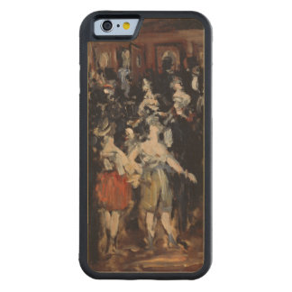 Masked Ball at the Opera by Edouard Manet Carved® Maple iPhone 6 Bumper Case