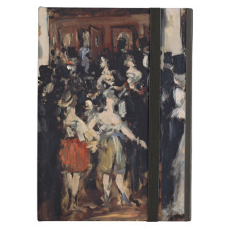 Masked Ball at the Opera by Edouard Manet Case For iPad Air