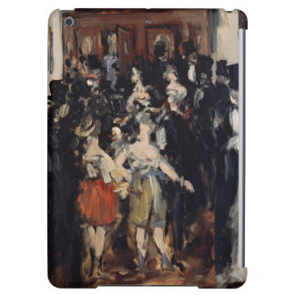 Masked Ball at the Opera by Edouard Manet iPad Air Cover