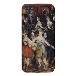 Masked Ball at the Opera by Edouard Manet Cover For iPhone 5/5S
