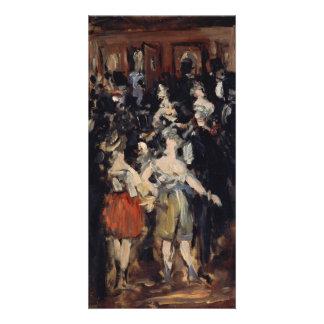 Masked Ball at the Opera by Edouard Manet Custom Photo Card