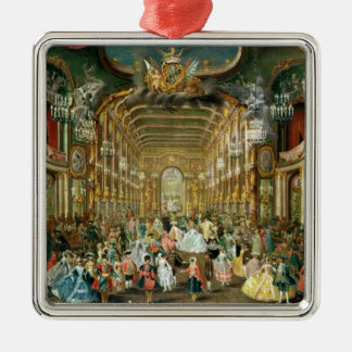 Masked Ball in the Hoftheater, Bonn, 1754 Ornament