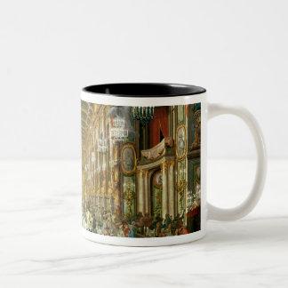 Masked Ball in the Hoftheater, Bonn, 1754 Two-Tone Coffee Mug