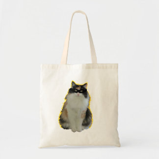 Masked   Cat On Fire Tote Bag