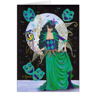 Masked Fairy Greeting Card