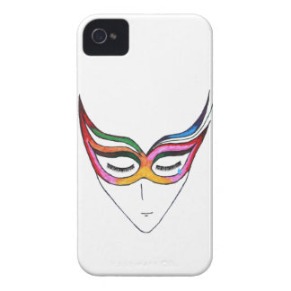 Masked Feelings iPhone 4 Cover