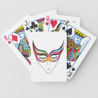 Masked Feelings Bicycle Playing Cards