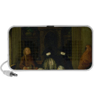 Masked Figures in a Venetian Coffee House Speaker System