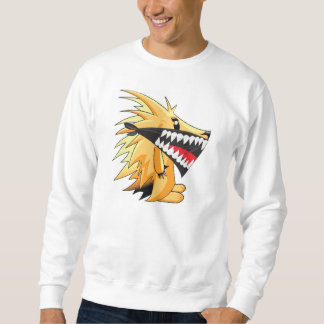 Masked hedgehog sweatshirt
