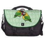 Masked Lovebird Adorable Pair Bag For Laptop