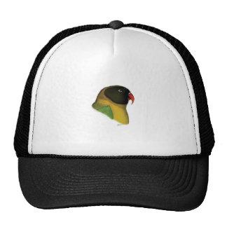 masked lovebird, tony fernandes trucker hat