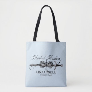 Masked Maidens Tote