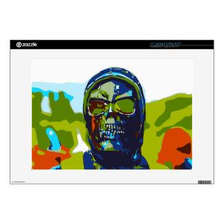 "Masked man 15"" laptop decals"