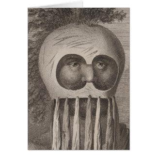 Masked Man in the Sandwich Islands Card