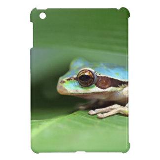 Masked puddle frog iPad mini case