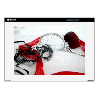 """Masked Queens Snow 15"""" Laptop Decal"""