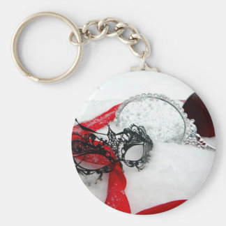 Masked Queens Snow Key Chain