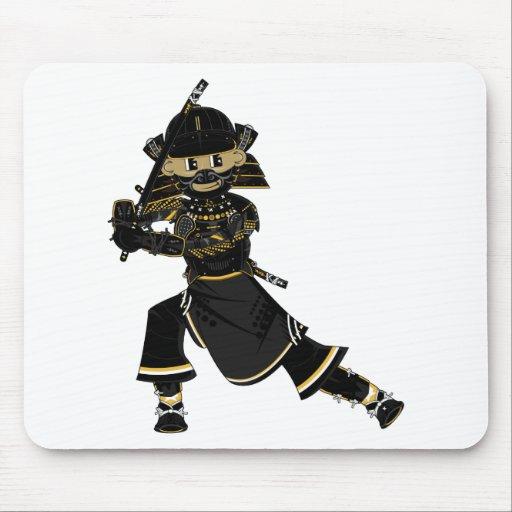 Masked Samurai Warrior Mousepad
