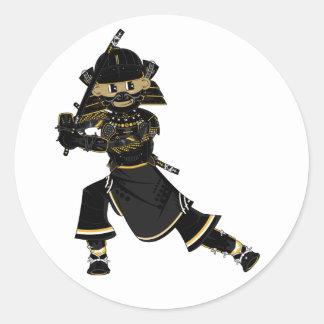 Masked Samurai Warrior Sticker