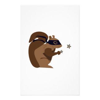Masked Squirrel Stationery