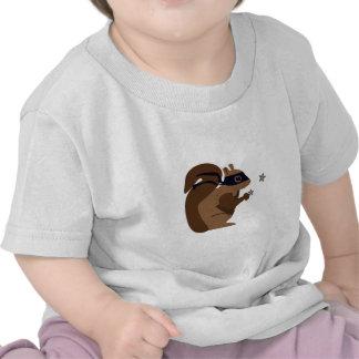 Masked Squirrel Tshirts