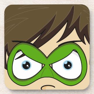 Masked Superboy Hero Coaster