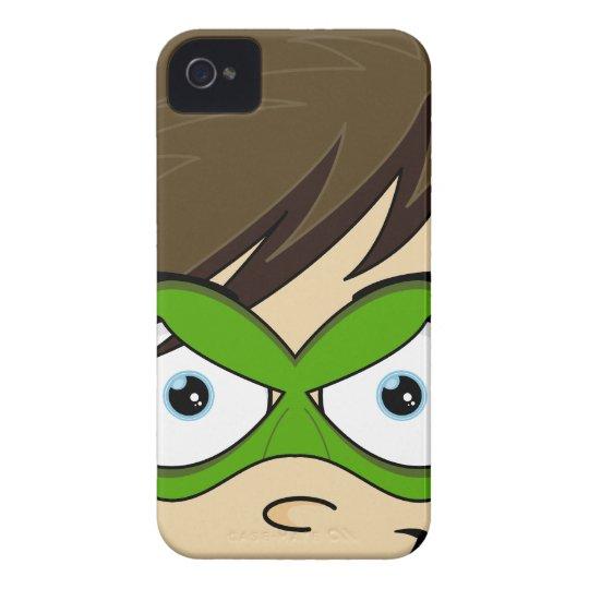 Masked Superboy Hero iphone Case
