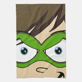 Masked Superboy Hero Towel
