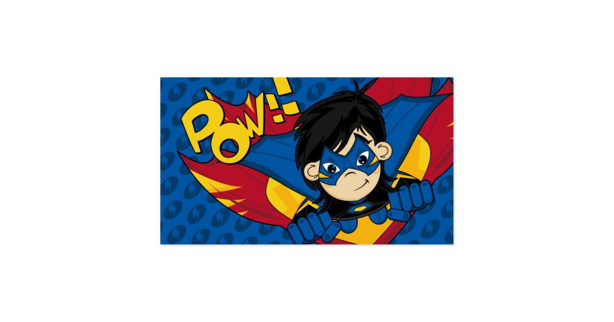 Masked superhero bookmark business card zazzle for Superhero business cards