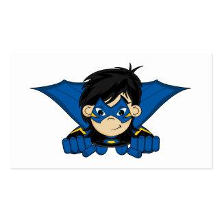 Masked Superhero Girl Bookmark Pack Of Standard Business Cards