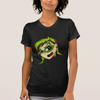 Masked Superhero Girl T-Shirt