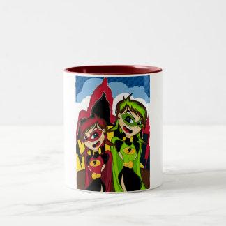 Masked Superhero Girls Mug