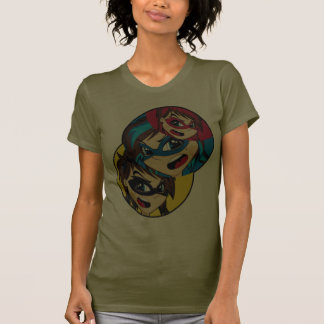 Masked Superhero Girls T-Shirt