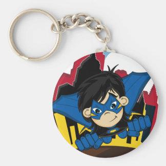 Masked Superhero Keychain