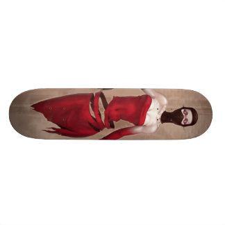 Masked Unraveling Lolita Illustrated Skate Board