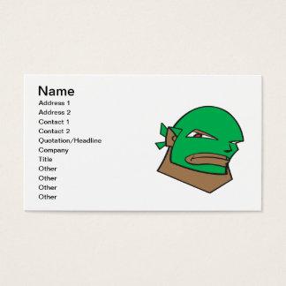 Masked Wrestler Business Card