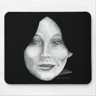 Masking the self mouse pad