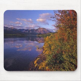 Maskinonge Lake in Waterton Lakes National Park 2 Mouse Pads