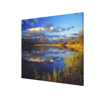 Maskinonge Lake in Waterton Lakes National Park 3 Canvas Print