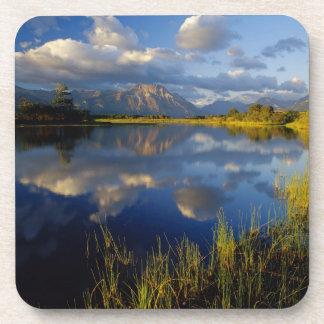 Maskinonge Lake in Waterton Lakes National Park Coaster