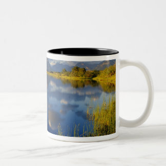 Maskinonge Lake in Waterton Lakes National Park Two-Tone Coffee Mug