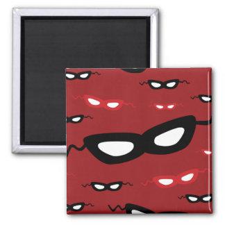 Masks 2 Inch Square Magnet