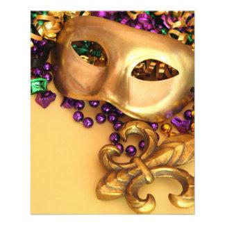 masks-351906 GOLDEN PURPLE EMERALLD GREEN GLITTER Flyer