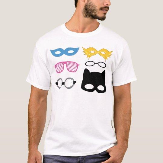 Masks and glasses T-Shirt