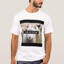 Masks Are For Sheep T-Shirt
